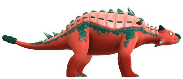 dinosaur train ankylosaurus - photo #8