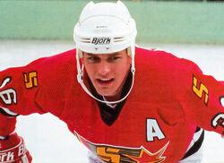 Fraser Hockey Player The Blue Line