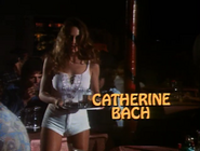 Catherine Bach - Title Card