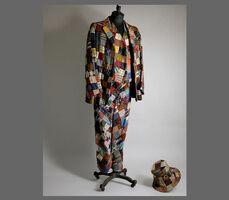 Patchwork suit