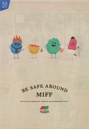 Dumb Ways To Die - July 31st MIFF 25pc
