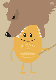 Metro dumb ways to die grizzly bear