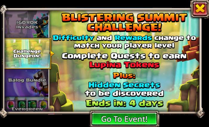 Blistering Summit Lupina