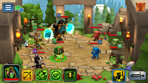 Goblin Raid 1 fights