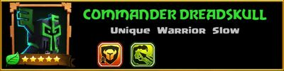 Profile Commander Dreadskull