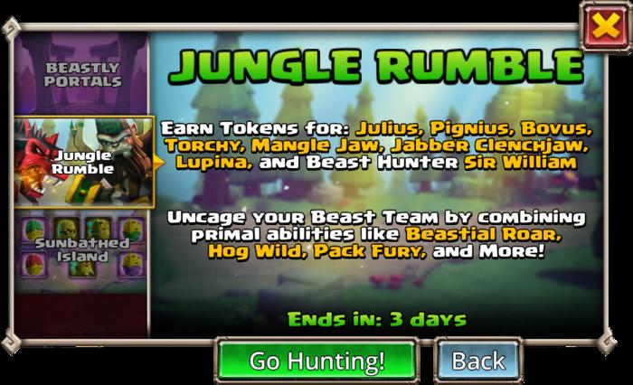 Jungle Rumble cover info