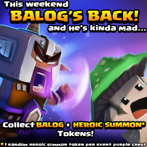 Balog returns cover