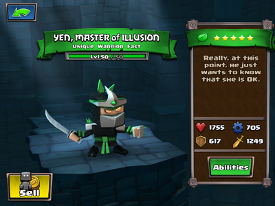 Yen, Master of Illusion lvl 50