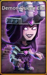Demon Queen Ella skin