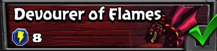 16-10 Devourer of Flames