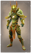 Majestic marigold armor