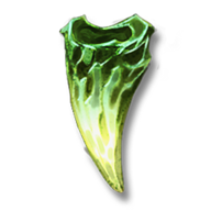 Veridian dragon tooth