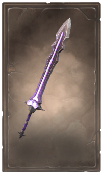 Dreadcreep greatsword