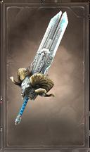 Blizzardwall greatsword
