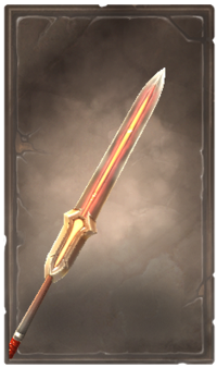 Ember glaive