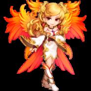 Phoenix the Queen of Fire Elemental detailed