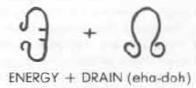 Glyph of warding - energy drain