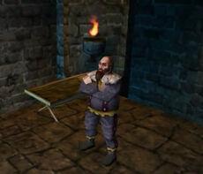 King Konreid in Dungeon