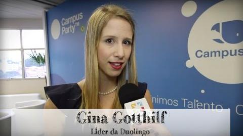 Gina Gotthilf Líder da Duolingo