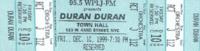 WPLJ Concert, Town Hall, New York wikipedia duran duran