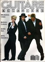 GUITARE & CLAVIERS . N° 72 . MARS 1987 magazine duran duran