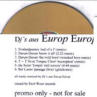 Duran duran Dj`s Aus Europ Europ Remixes