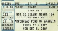 Not So Silent Night, The Theatre At The Pond, Anaheim CA, USA duran duran wikipedia