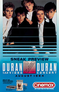 Poster duran duran1984