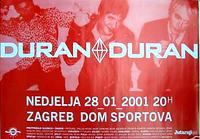 Duran croatia poster