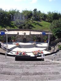 Amphitheater at Altos de Chavón duran duran