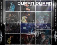 1 Recorded live at Pepsi Pavilion, Greenville, USA, November 9th, 2006. duran duran wikipedia 1