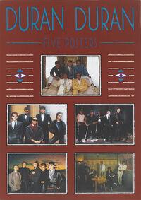 Five posters duran duran wikipedia
