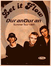 Duran duran wikipedia poster tour review show