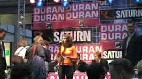 Duran Duran in Berlin Saturn Record Signing 02.10