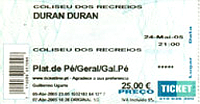 Ticket may 24 2005