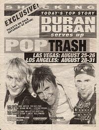 House of Blues, Las Vegas, NV, USA WIKIPEDIA SHOW DURAN DURAN