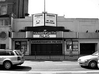 Hammersmith Palais, London wikipedia duran duran the cure