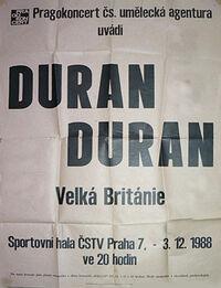 Sportovni hala cstv praha wikipedia duran duran Sports Hall, Prague, Czechoslovakia
