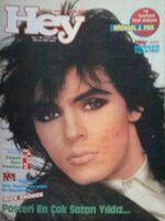 Nick Rhodes Duran Duran Madonna A-ha Nik Kershaw Cure Michael J. Fox Sade jan 1986 hey magazine turkey wikipedia