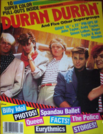 DURAN DURAN 1980'S POSTER SPECIAL...magazine discogs discography wiki