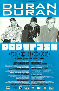 Poster pop trash tour duran duran vinyl discography discogs wiki