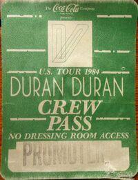 Us tour 1984 duran duran wikipedia pass