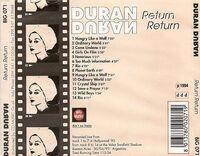 Return return duran duran bootleg wikipedia 1