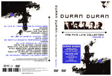 Fab five live collection 5 duran duran discogs wikipedia livefan romanduran