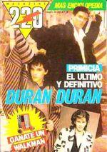 Magazine 220 Nº 25 Duran Duran Enciclopedia argentina wikipedia