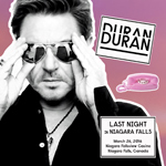 Last Night In Niagara Falls wikipedia duran duran discogs