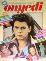 Onyedi Magazine 9 1985 turkish Duran Duran John Taylor Modern Talking Rick Springfield Opus Bob Geldof 1985
