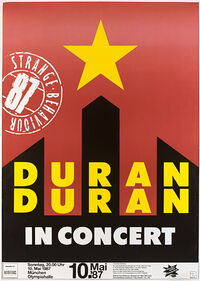999 Olympiahalle, Munich (Germany) - 10 May 1987 duran concert discogs discography wikipedia