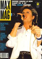 Max mag magazine duran duran no.5 1984