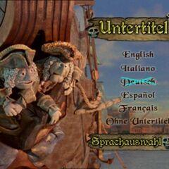 Subtitles menu